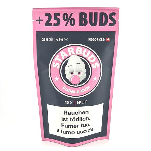 Starbuds Bubble Gum